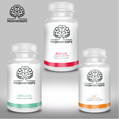 Health Supplement Label Design