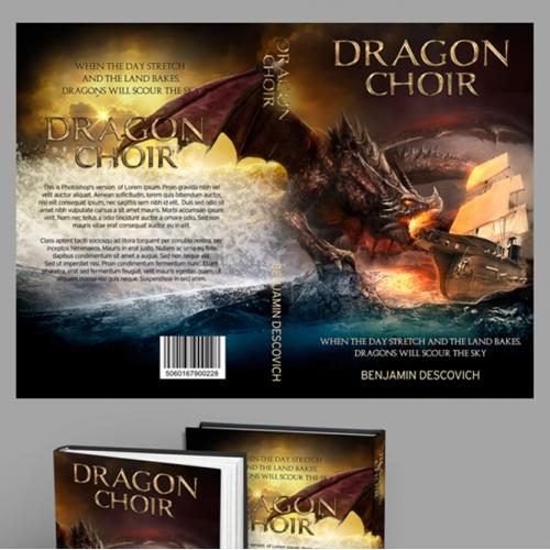 Dragon Fantasy Book Cover