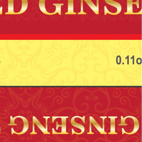 Gingseng Tea Packaging Design