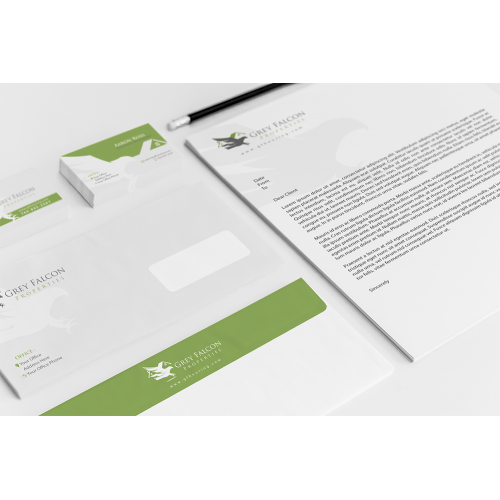 Grey Falcon Properties Stationary
