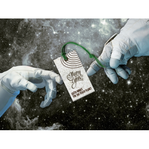 The Hand of Astronaut | The Creation of Label | Rebil Design