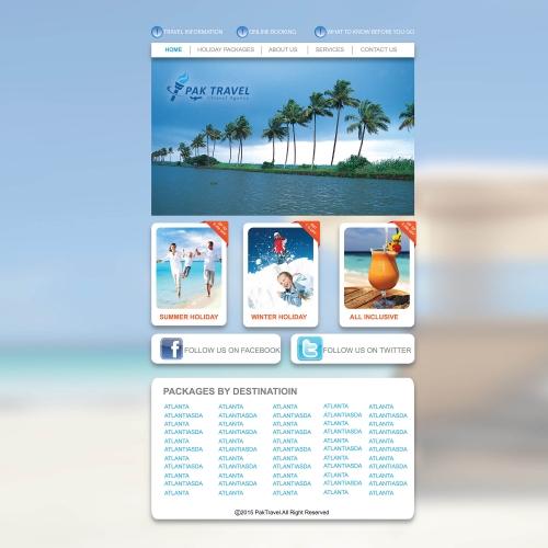 Pak Travel Webpage