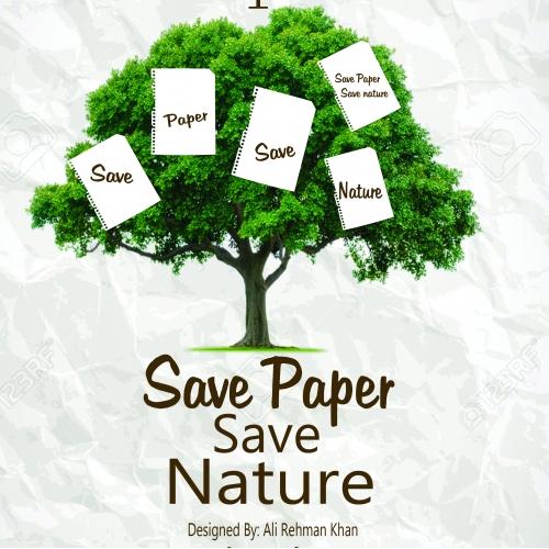 Save Nature Save Paper
