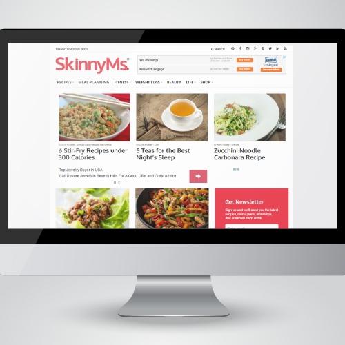 Skinny Ms. Web Design