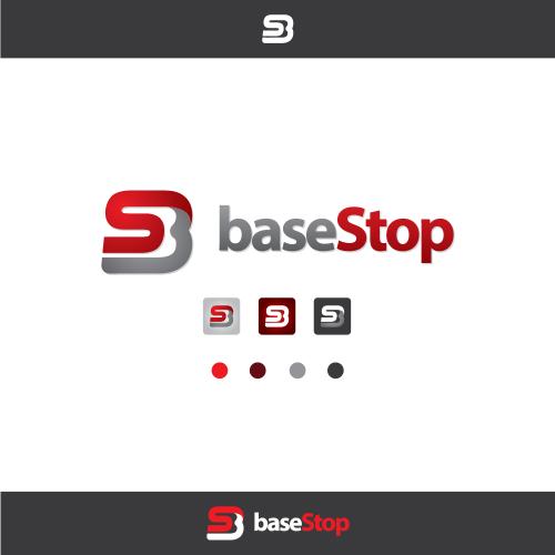 BaseStop Logo Design