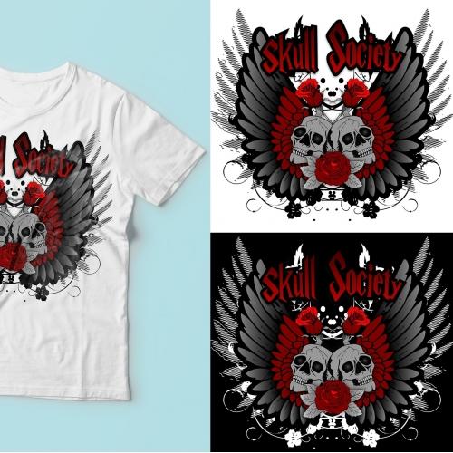 Ladies Biker/ Motorcycle T-Shirt
